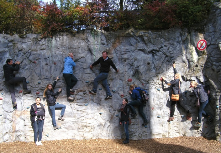 Englmar 2015 WP Kletterwand
